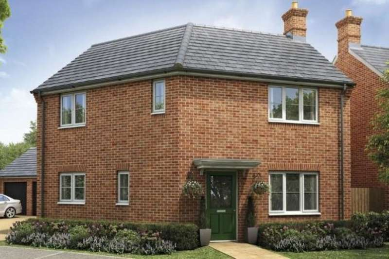 3 Bedrooms Semi Detached House for sale in Hempsted Park Forbes Drive, Hempsted, Peterborough, PE7