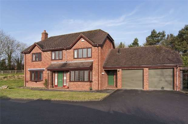 4 Bedrooms Detached House for sale in 3 Mayfields, Ludlow, Shropshire