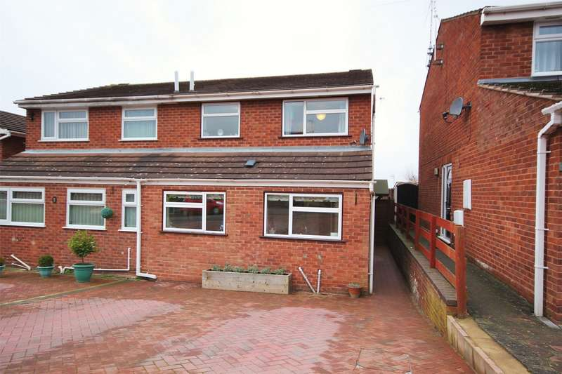 3 Bedrooms Semi Detached House for sale in Bishops Avenue, Worcester