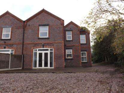 4 Bedrooms Semi Detached House for sale in Castle Street, Chesterton, Newcastle, Staffordshire