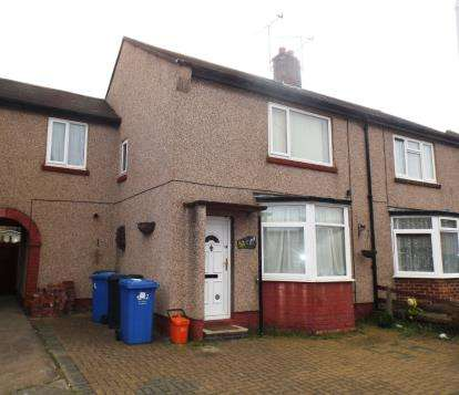 3 Bedrooms Semi Detached House for sale in Meredith Crescent, Rhyl, Denbighshire, LL18