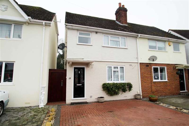 2 Bedrooms Property for sale in Dagnall Crescent, Uxbridge, Middlesex