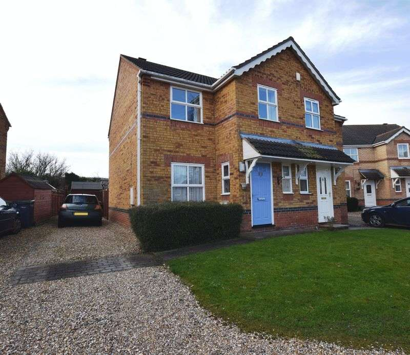 3 Bedrooms Semi Detached House for sale in Curtis Drive, Heighington, Lincoln