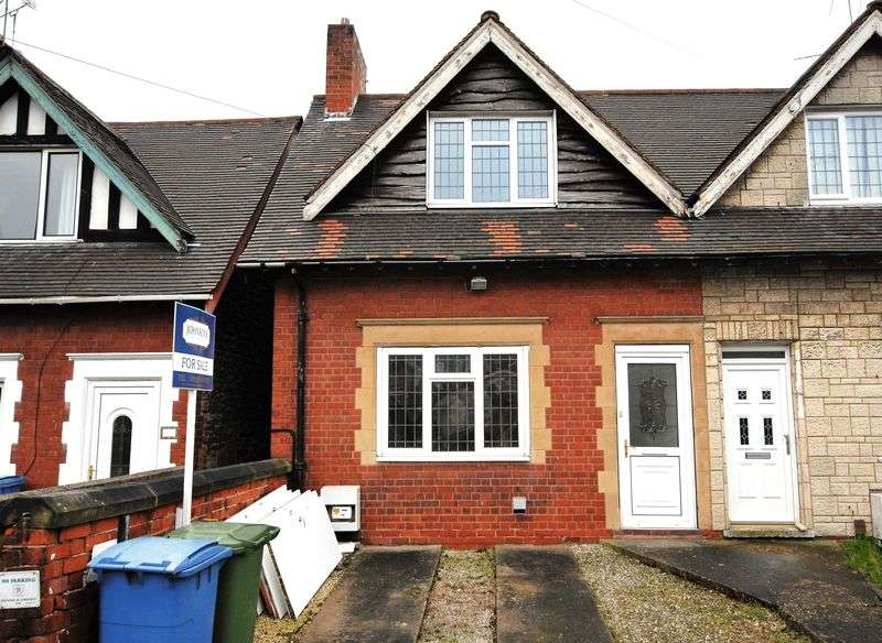 2 Bedrooms Semi Detached House for sale in Derby Street, Mansfield