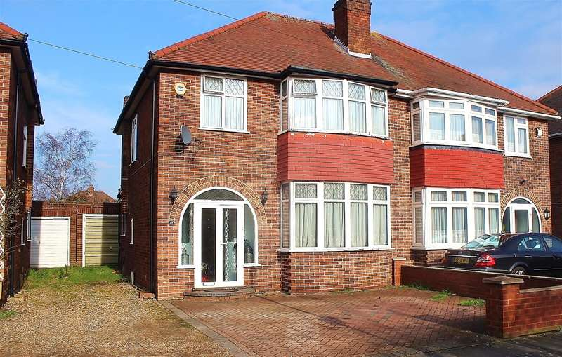 3 Bedrooms Semi Detached House for sale in Hughes Road, Hayes, Middlesex, UB3 3AN