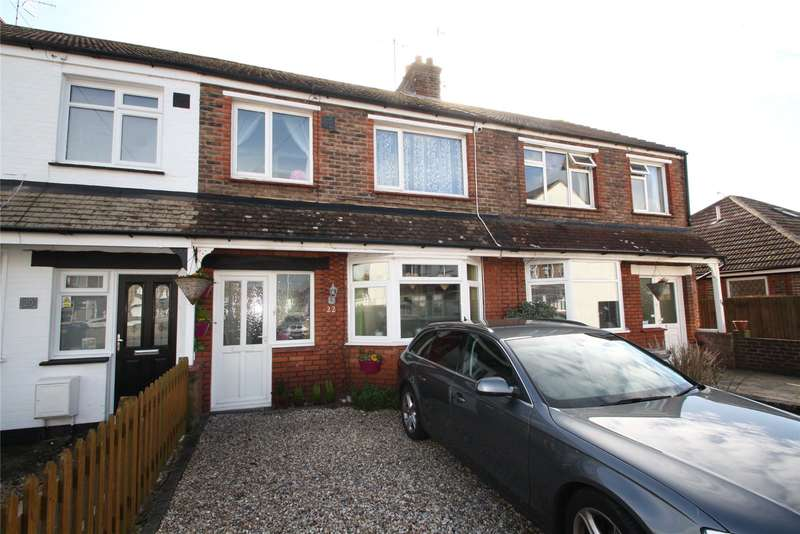 3 Bedrooms Terraced House for sale in Chancton Close, West Worthing, West Sussex, BN11