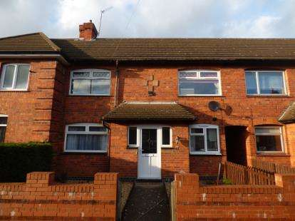 2 Bedrooms Terraced House for sale in Rosedale Road, Kingsthorpe, Northampton, Northamptonshire
