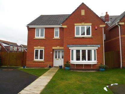 4 Bedrooms Detached House for sale in Heigham Gardens, St Helens, Merseyside, WA9