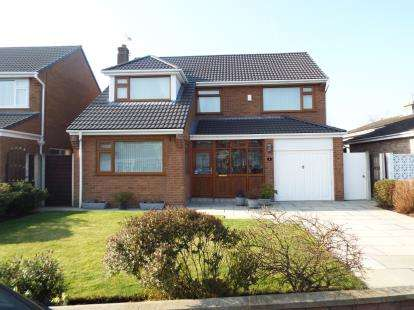 4 Bedrooms Detached House for sale in Gorsefield, Formby, Liverpool, Merseyside, L37