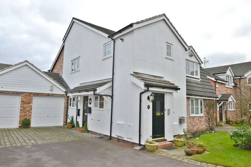 2 Bedrooms Flat for sale in Park Lodge Close, Cheadle