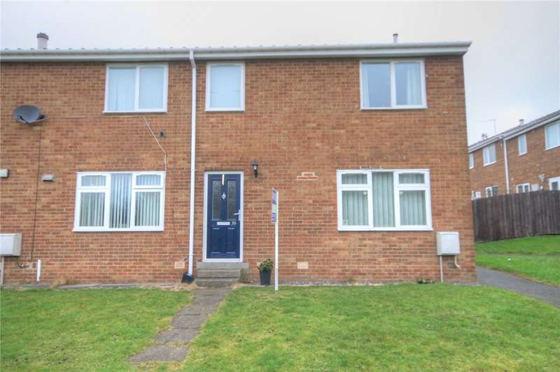 3 Bedrooms End Of Terrace House for sale in Milton Close, Stanley, Durham, DH9