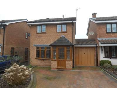 3 Bedrooms Link Detached House for sale in Churston Close, Turnberry, Bloxwich