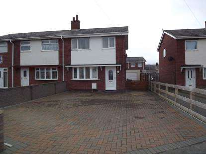 3 Bedrooms Semi Detached House for sale in Lon Cilgwyn, Hendre Park, Caernarfon, Gwynedd, LL55