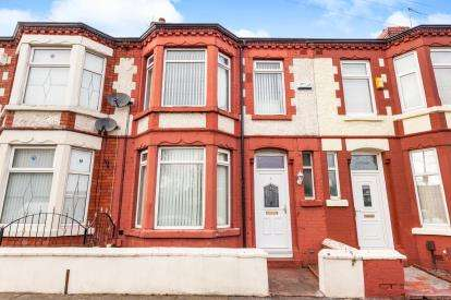 3 Bedrooms Terraced House for sale in Oakhill Road, Old Swan, Liverpool, Merseyside, L13