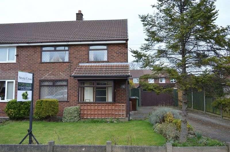 3 Bedrooms Semi Detached House for sale in Nook Lane, Golborne, WA3 2JW