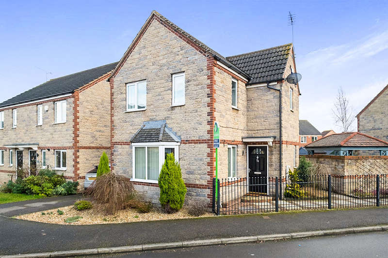 3 Bedrooms Detached House for sale in Euston Way, Dinnington, Sheffield, S25