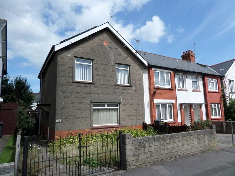 3 Bedrooms End Of Terrace House for sale in Camrose Road, Cardiff