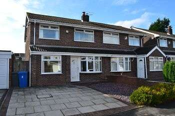 3 Bedrooms Semi Detached House for sale in Raithby Drive, Hawkley Hall, Wigan, WN3 5PZ