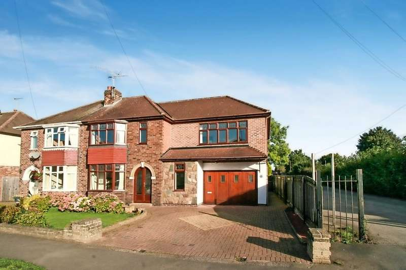 4 Bedrooms Semi Detached House for sale in Scropton Road, Hatton, Derbyshire