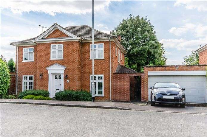 4 Bedrooms Detached House for sale in The Chestnuts, Harston, Cambridge