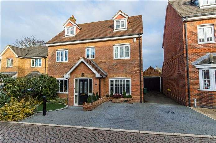 5 Bedrooms Detached House for sale in Chalkhill Barrow, Melbourn