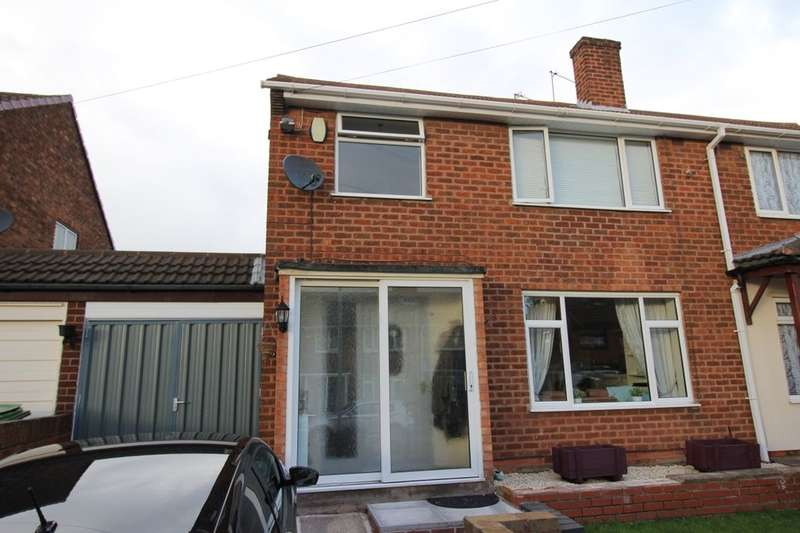 3 Bedrooms Semi Detached House for sale in Uplands Road, Willenhall, WV13