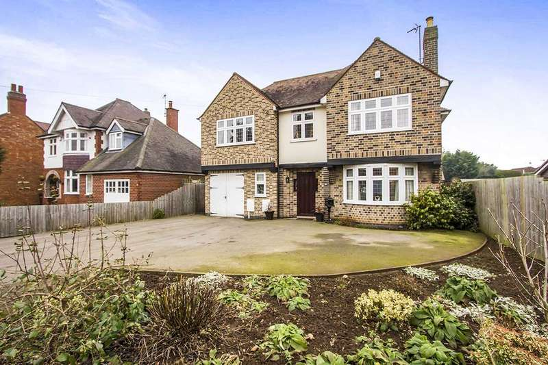 4 Bedrooms Detached House for sale in Leicester Road, Broughton Astley, Leicester, LE9