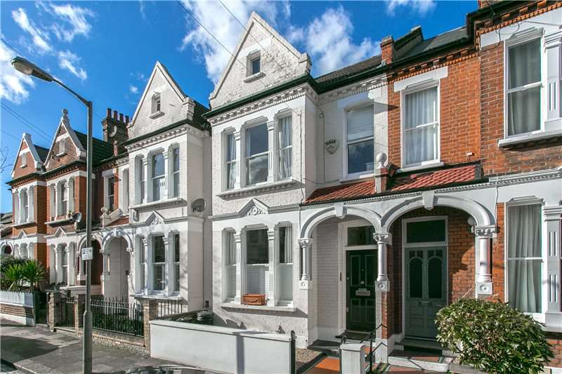 4 Bedrooms Terraced House for sale in Airedale Road, London, SW12