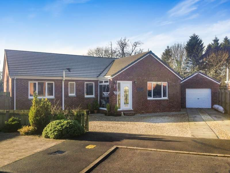 3 Bedrooms Detached Bungalow for sale in 6 Woodside Avenue, Clarencefield, Dumfries, DG1 4GD