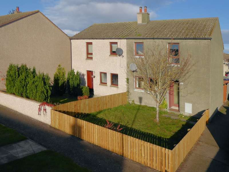 2 Bedrooms Semi Detached House for sale in 64 Community Way, Lossiemouth, IV31 6RL