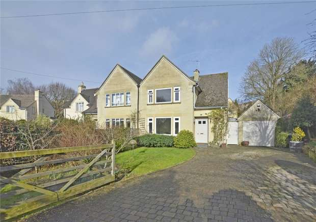 3 Bedrooms Semi Detached House for sale in 2 Belcombe Road, Bradford on Avon, Wiltshire