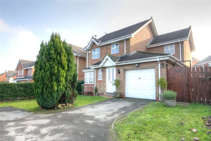 3 Bedrooms Detached House for sale in Barrington Meadows, Bishop Auckland, County Durham, DL14