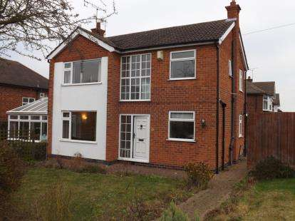 3 Bedrooms Detached House for sale in Stanhome Drive, West Bridgford, Nottingham