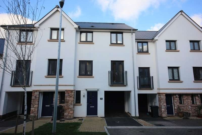 3 Bedrooms Town House for sale in Dell Court, Newton Abbot