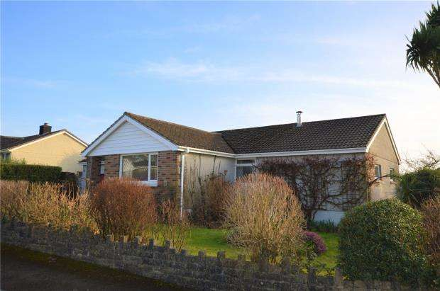 3 Bedrooms Detached Bungalow for sale in Fourgates, Menheniot, Liskeard, Cornwall