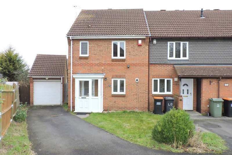 2 Bedrooms End Of Terrace House for sale in The Belfry, Luton, Bedfordshire, LU2 7GA