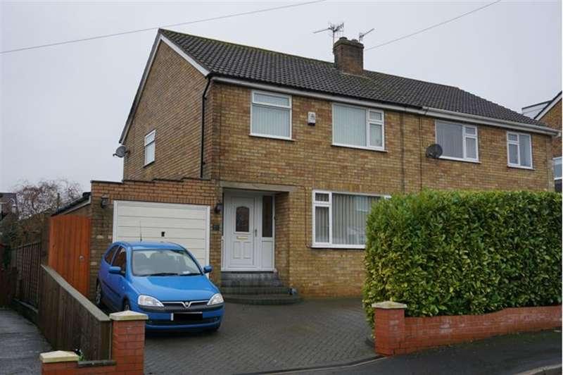 3 Bedrooms Semi Detached House for sale in Meadow Drive, East Ayton, YO13 9EZ