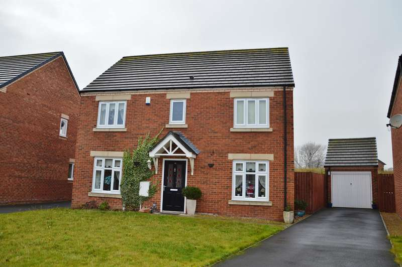 4 Bedrooms Detached House for sale in Raines Court, Longlands, Middlesbrough, TS4 2AL