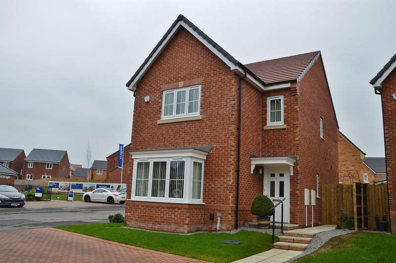 4 Bedrooms Detached House for sale in Ceremony Wynd, Clairville Grange, Middlesbrough, TS4 2WG