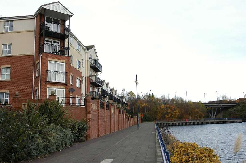 2 Bedrooms Apartment Flat for sale in Chirton Dene Quays, North Shields