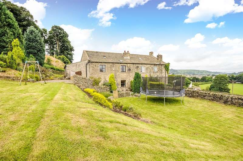 5 Bedrooms Barn Conversion Character Property for sale in Woodland Barn, Knott Lane, Eastburn