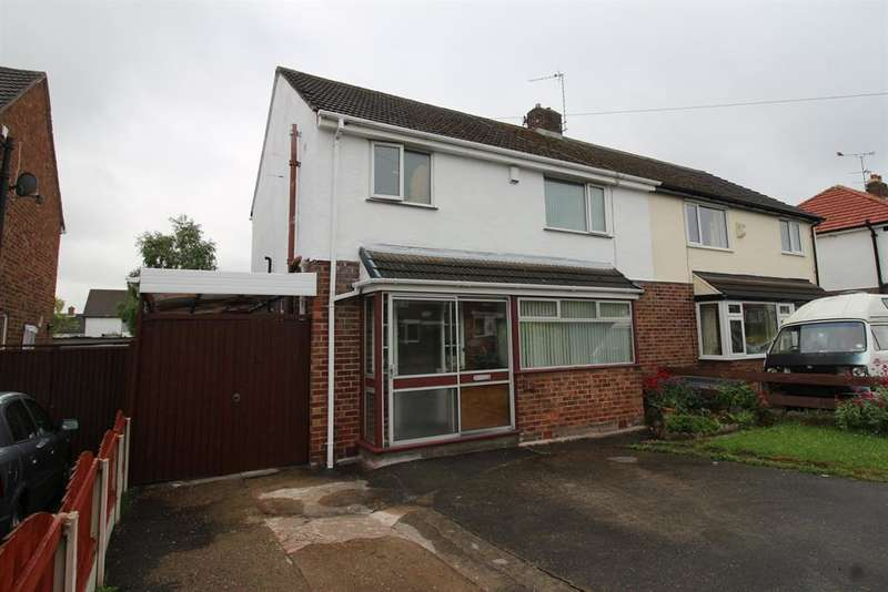 3 Bedrooms Semi Detached House for sale in Nicholls Drive, Pensby, Wirral, CH61 5XD