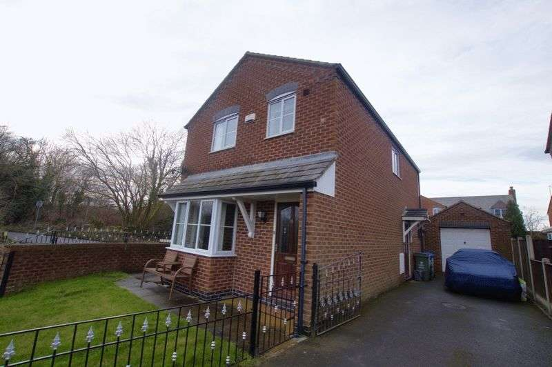 3 Bedrooms Detached House for sale in Mount Zion, Wrexham