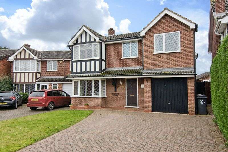 5 Bedrooms Detached House for sale in The Pines, Boley Park, Lichfield