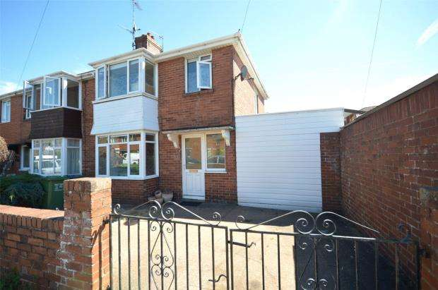 3 Bedrooms Semi Detached House for sale in Isca Road, Haven Banks, Exeter
