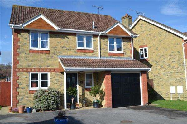 4 Bedrooms Detached House for sale in Steinbeck Close, Fareham