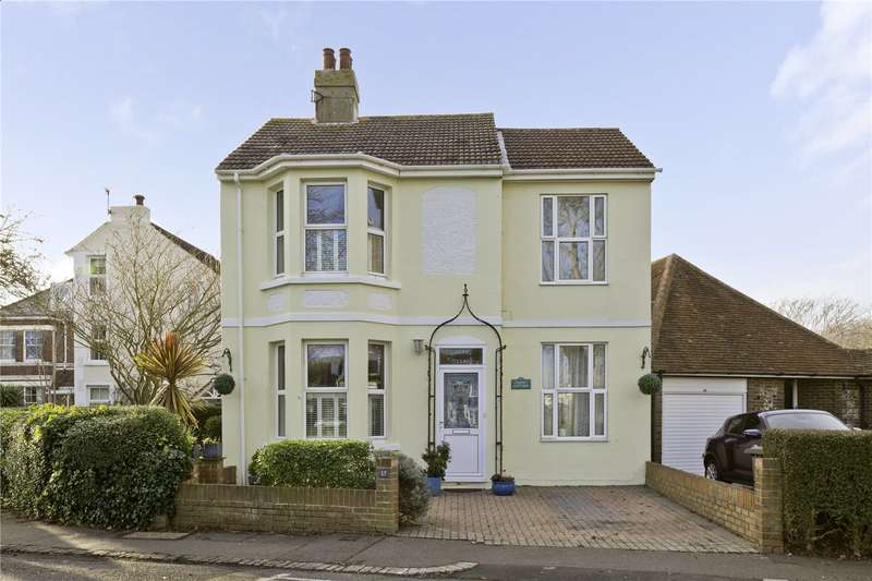 3 Bedrooms Detached House for sale in The Green, Southwick, Brighton, West Sussex, BN42