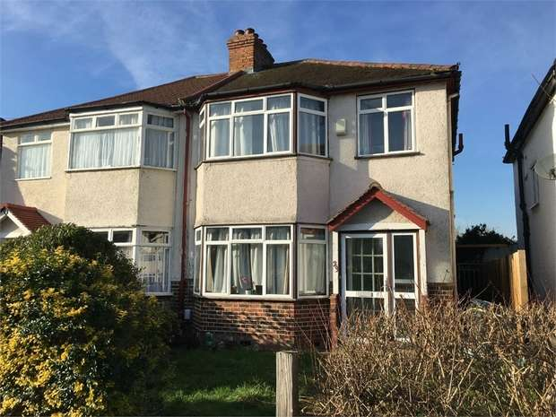 3 Bedrooms Semi Detached House for sale in Riverholme Drive, West Ewell