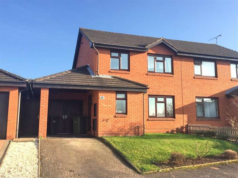3 Bedrooms Semi Detached House for sale in Bridle Road, Kings Acre, Hereford, HR4