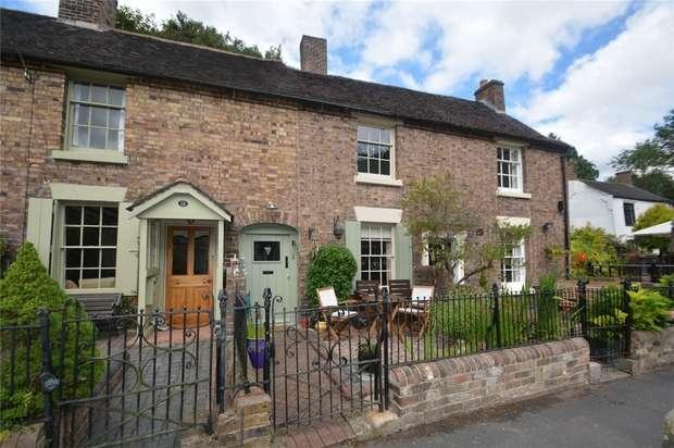 2 Bedrooms Cottage House for sale in 13 Severnside, Ironbridge, Shropshire